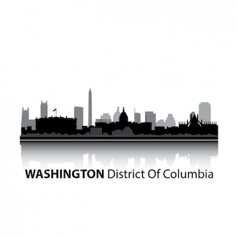 Washington skyline design