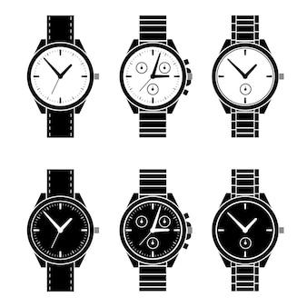 Смотреть черно-белые коллекции набора.