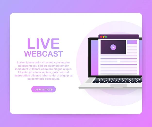 Watch video online template