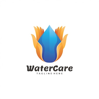 Water care logotype