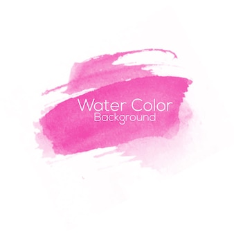 Water color pink background
