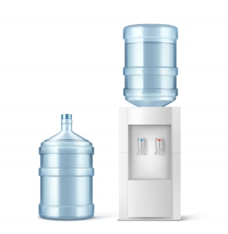 Water cooler and big bottle for office and home