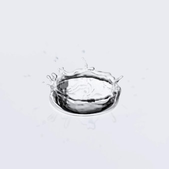 水滴効果ベクトル、水しぶき
