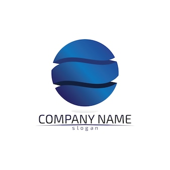 Шаблон логотипа капля воды