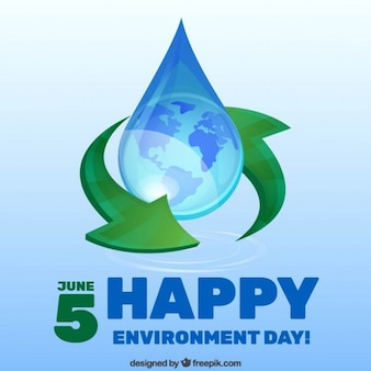 Water droplet environment day background