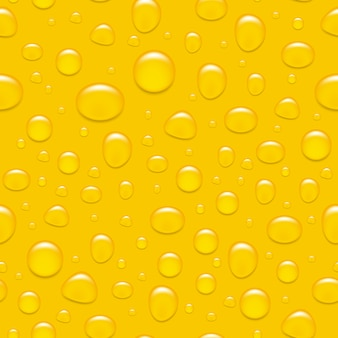 Water drops on glass. like a beer. seamless background.