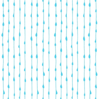 Water drops pattern design