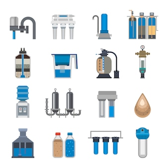 Water filtration set