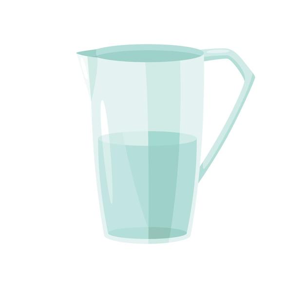 ガラスの水。生地、クッキー、クロワッサンを作るための材料と調理器具