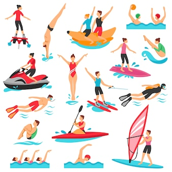 Water sport set