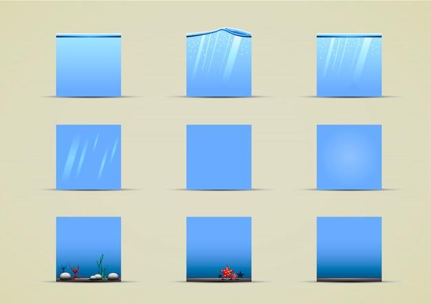 Водные спрайты для видеоигр