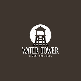 Water tower logo concept