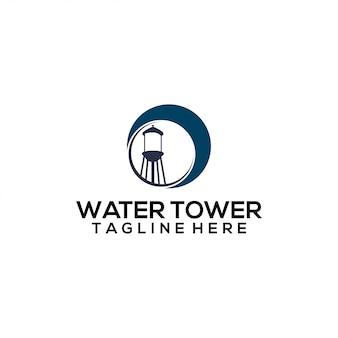 給水塔のロゴ