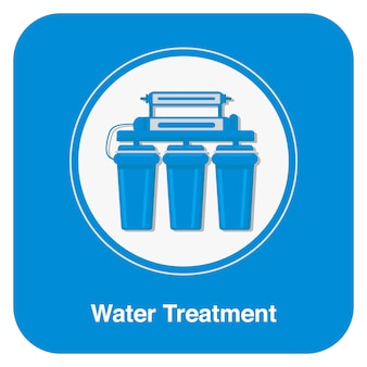 Water treatment symbol