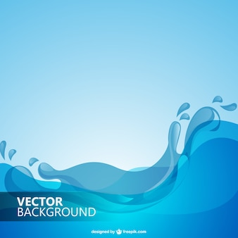 Water waves background