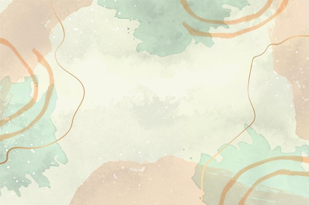 Watercolor abstract background with lines