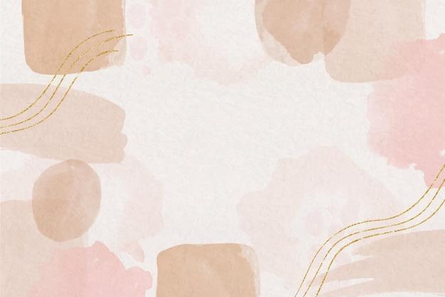 페인트 얼룩이 있는 수채화 추상적 인 배경