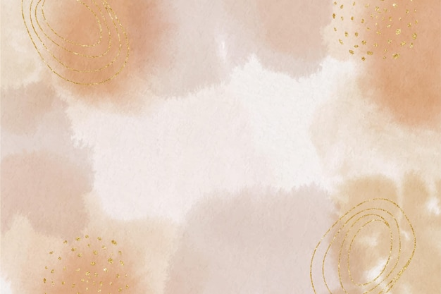 Watercolor abstract background with painted stains