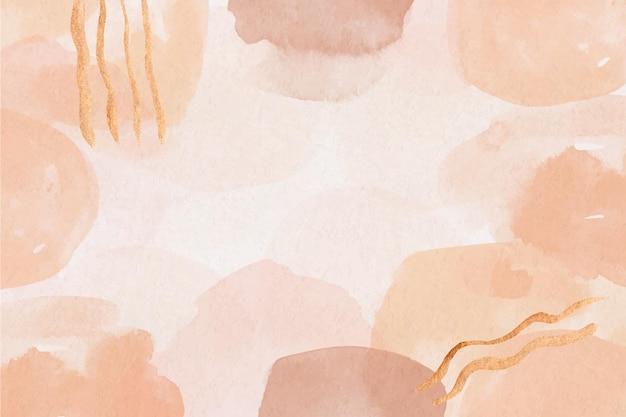 Акварель абстрактный фон с окрашенными пятнами