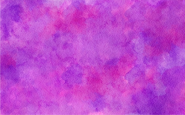 Watercolor abstract purple pink color background illustration
