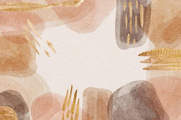 Sfondo di forme astratte dell'acquerello