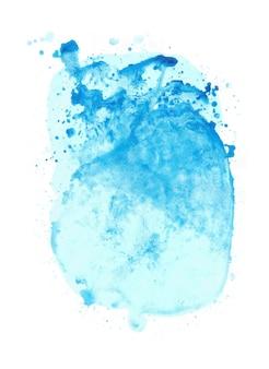 Watercolor abstract splash