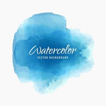 Blu acquerello splash sfondo