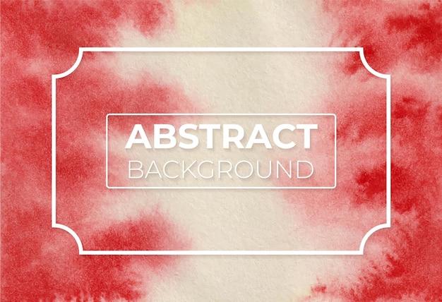 Акварель абстрактный ярко-красный оттенок современный элегантный дизайн фона
