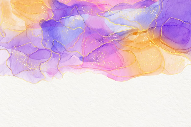 Watercolor alcohol ink background