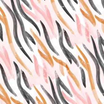 Modello di stampa animale dell'acquerello