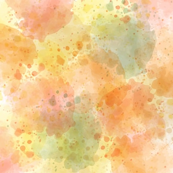 Watercolor autumn pastel background, vector format