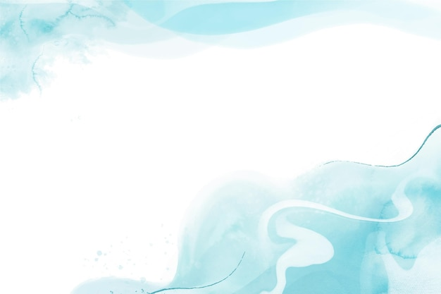 Watercolor background concept
