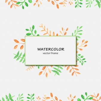 Watercolor background design