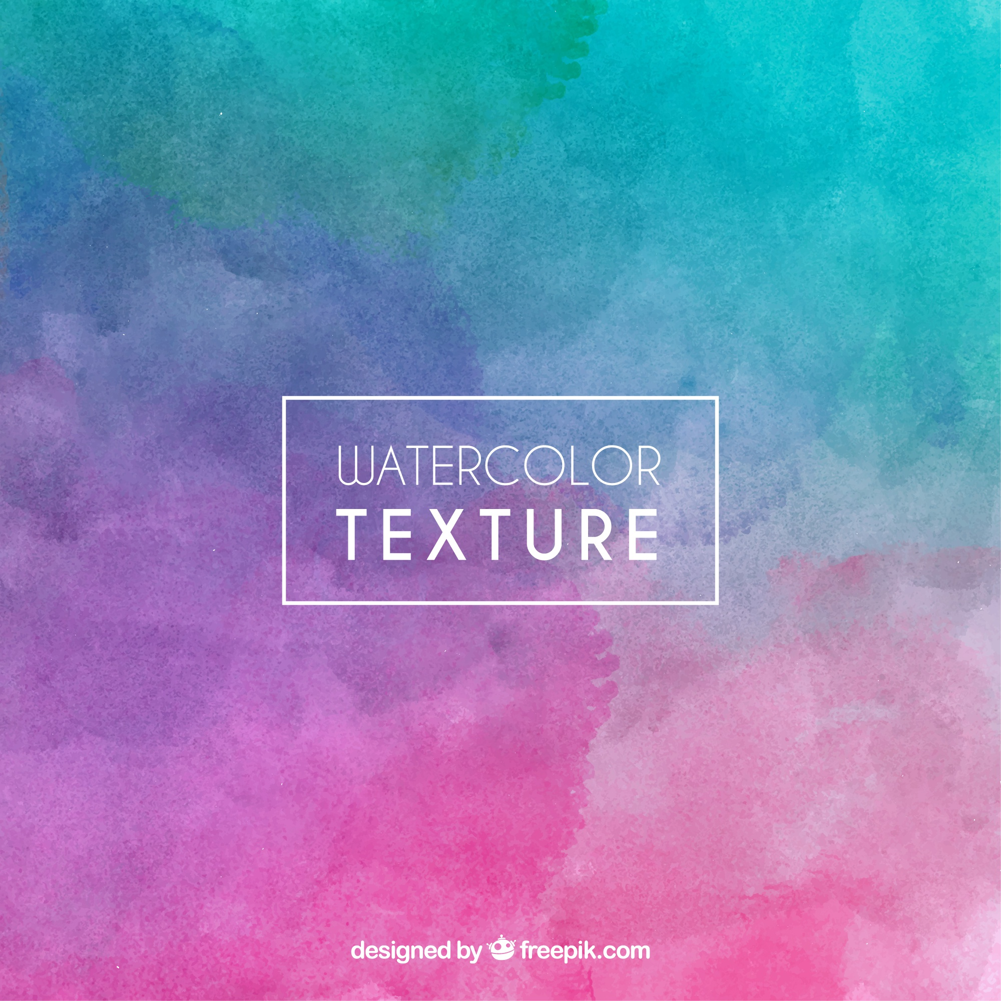 Watercolor background in abstract style