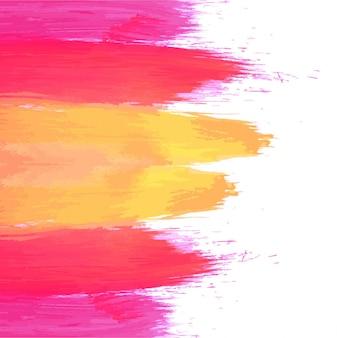 モダンなカラフルな水彩の背景