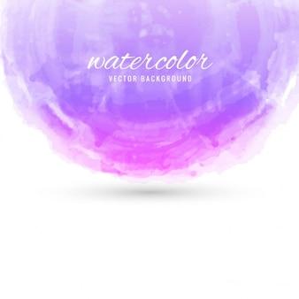 Watercolor background in purple tones