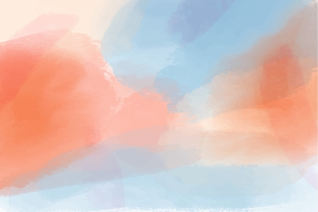 Watercolor background style