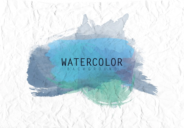 Watercolor background with paper texture