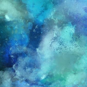 Watercolor, blue color