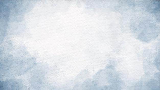 Watercolor blue indigo splash on paper texture
