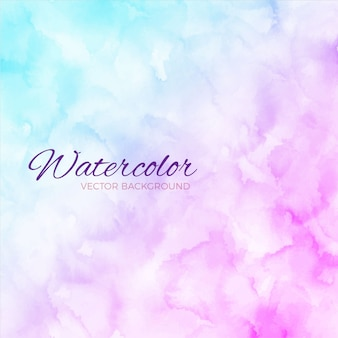Watercolor blue and purple background