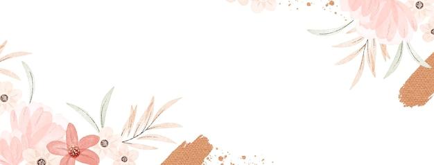 Copertina facebook acquerello boho