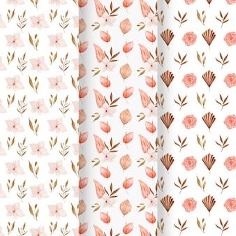 수채화 boho 패턴 컬렉션