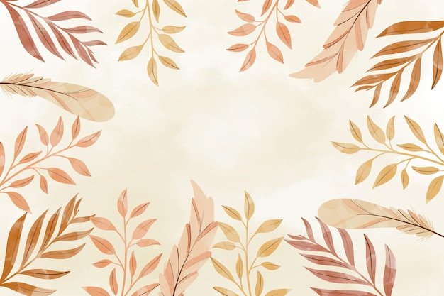 Watercolor boho pattern