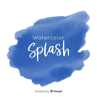 Watercolor brush stroke background