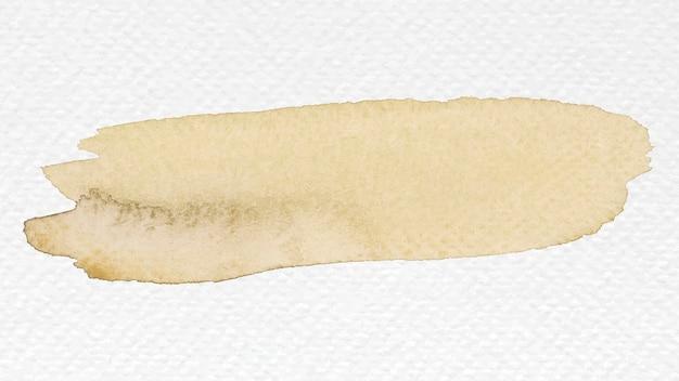 Vettore di tratto pennello acquerello
