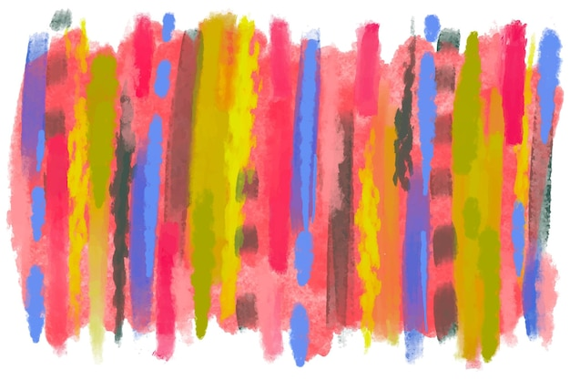 Watercolor brush strokes background