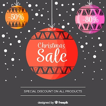 Watercolor christmas sale background