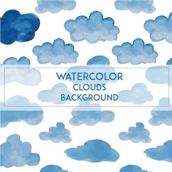 Акварельные облака