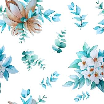 花の水彩画コレクション
